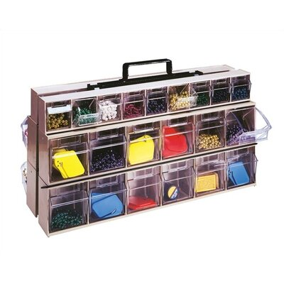 Quantum Storage Complete Portable Frame Unit with Tip Out Bins