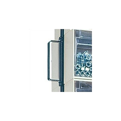 """Quantum Storage 48"""" Mobile Double Sided Floor Stand Storage Unit with Tip Out Bins"""