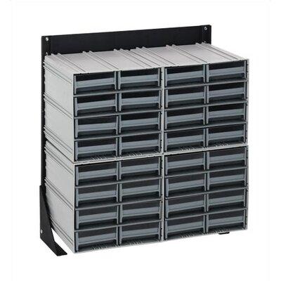 Quantum Storage Single Sided Interlocking Storage Cabinet Floor Stand
