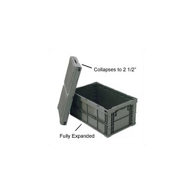 Quantum Storage Collapsable Storage Containers