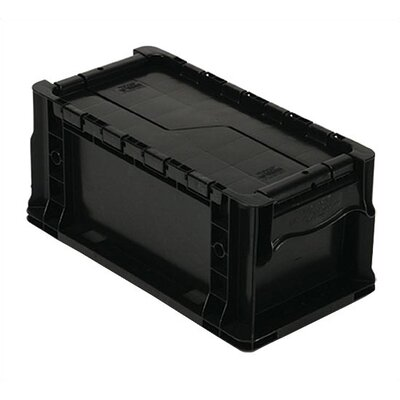 Quantum Storage Heavy Straight Wall Stacking Storage Container with Attached Lid