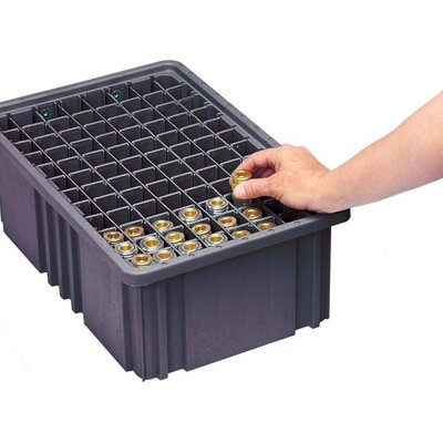 Quantum Storage Conductive Dividable Grid Storage Container Long Dividers for DG92035CO