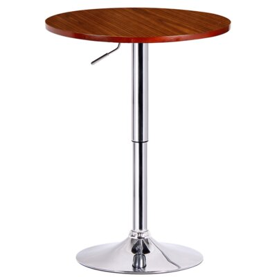 Runda Adjustable Height Pub Table by Boraam