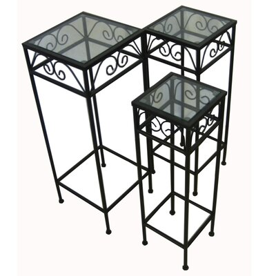 3 Piece Nesting Tables by Pangaea