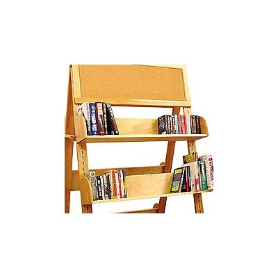 "Catskill Craftsmen, Inc. Book Carts and Racks A Frame Additional 8"" Shelving Unit"