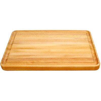 """Catskill Craftsmen, Inc. Professional Style 20"""" Cutting Board with Finger Grooves"""