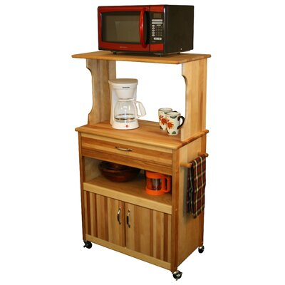 Catskill Craftsmen, Inc. Farmhouse Microwave Cart