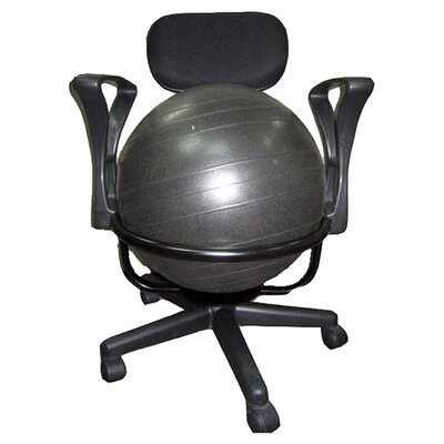 Low-Back Deluxe Ball Chair by AeroMAT
