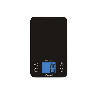 Escali SmartConnect 11 lbs Bluetooth Kitchen Scale