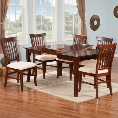 Venetian 7 Piece Dining Table Set by Atlantic Furniture