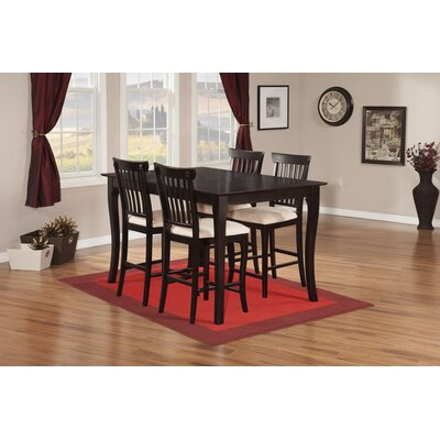 Venetian 5 Piece Counter Height Dining Set by Atlantic Furniture