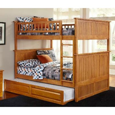 Atlantic Furniture Nantucket Bunk Bed with Trundle