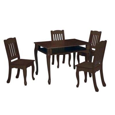Teamson Kids Windsor Kids' Rectangular Table and Chair Set