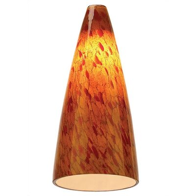 Ambiance Transitions Fuego Swirl Glass Shade by Sea Gull Lighting