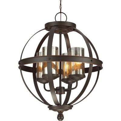 Sfera 4 Light Chandelier Product Photo