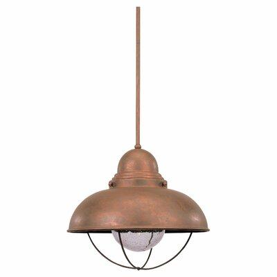 Sebring 1 Light Pendant by Sea Gull Lighting