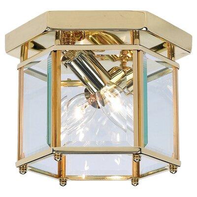 """Sea Gull Lighting 6.5"""" 2 Light Flush Mount"""