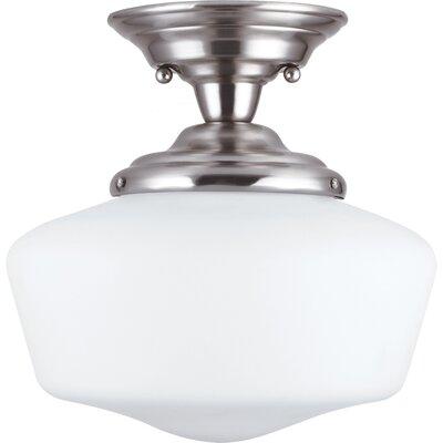 Academy 1 Light Semi-Flush Mount Product Photo