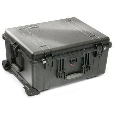 """Pelican Products Equipment Case with Foam: 19.56"""" x 24.5"""" x 12"""""""