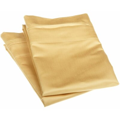 1500 Thread Count Egyptian Cotton Solid Pillowcase Pair by Simple Luxury