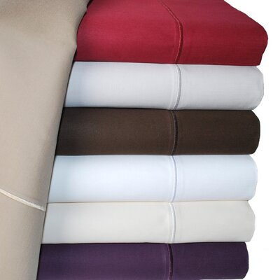 Simple Luxury Cotton 1500 Thread Count Solid Pillowcase Pair