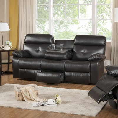 Roquette Leather Reclining Sofa by Primo International