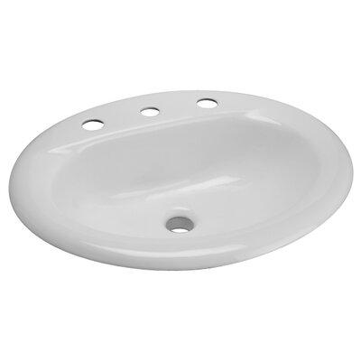 Zurn Cast Iron Drop-In Bathroom Sink