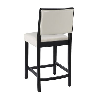 Linon Zoe 24 Quot Bar Stool With Cushion Amp Reviews Wayfair