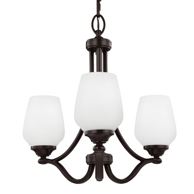 Vintner 3 Light Candle Chandelier by Feiss