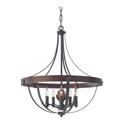 Alston 5 Light Chandelier Product Photo