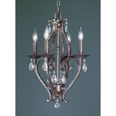 Mademoiselle 4 Light Chandelier Product Photo