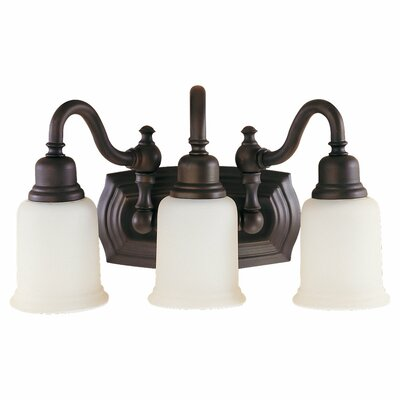 Canterbury 3 Light Bath Vanity Light Product Photo