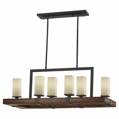 Madera 6 Light Kitchen Island Pendant Product Photo