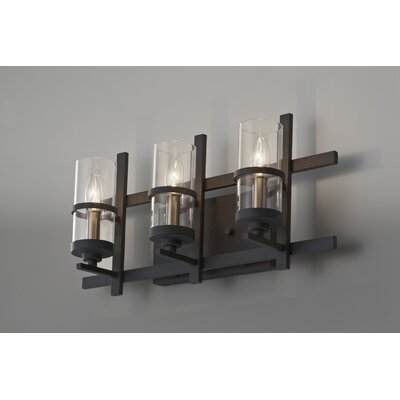 Ethan 3 Light Bath Vanity Light Product Photo