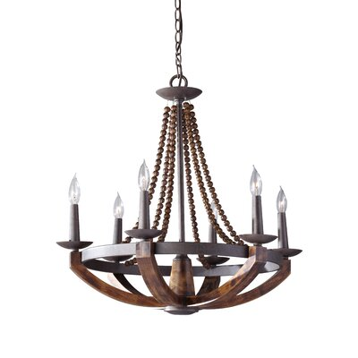 Adan 6 Light Chandelier Product Photo