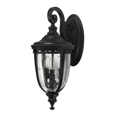 Feiss English Bridle 3 Light Wall Lantern