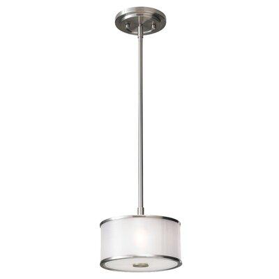 Feiss Casual Luxury 1 Light Mini Drum Pendant
