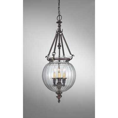 Luminary 3 Light Hall Chandelier Product Photo