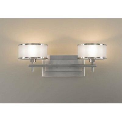 Upscale Bathroom Vanity Lights : Feiss Casual Luxury 2 Light Bath Vanity Light & Reviews Wayfair