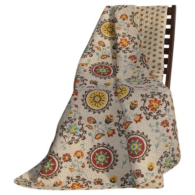 Greenland Home Fashions Andorra Cotton Throw