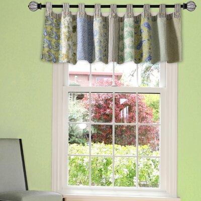 "Vintage Jade Patchwork 84"" Curtain Valance Product Photo"