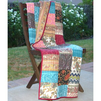 New Bohemian Cotton Throw by Greenland Home Fashions