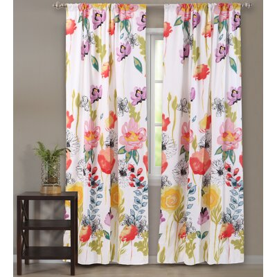 Watercolor Dream Curtain Drape Panel Set Product Photo