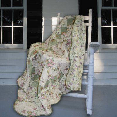 Bliss Cotton Throw by Greenland Home Fashions