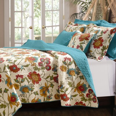 Greenland Home Fashions Clearwater Quilt Set