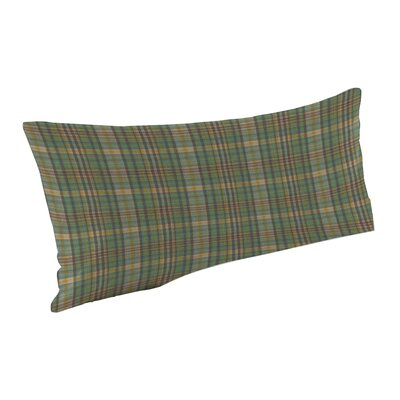Green Yellow Plaid Pillow Sham by Patch Magic