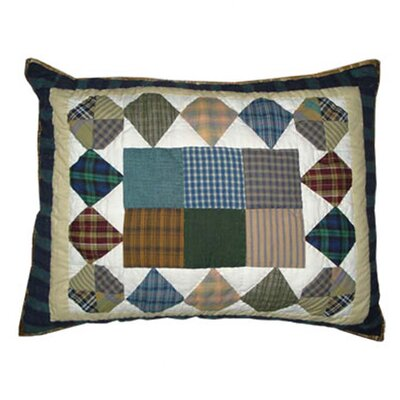 Patch Magic Pioneer Diamond Pillow Sham
