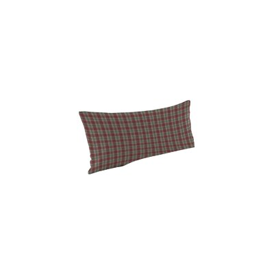 Brown and Green Plaid Pillow Sham by Patch Magic