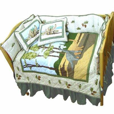 Dinosaur 9 Piece Crib Bedding Set by Patch Magic