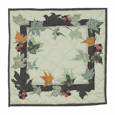 Patch Magic Falling Leaves Cotton Throw Pillow